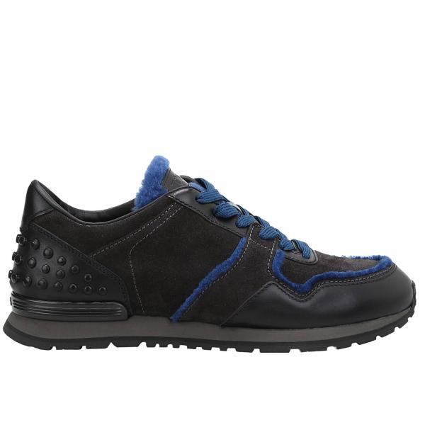 Sneakers Uomo Tod's Nero | Sneaker Running Bimateriale Stringata Con Micro  Gommini | Sneakers Tod's Xxm0xh0r012 I10 - Giglio IT