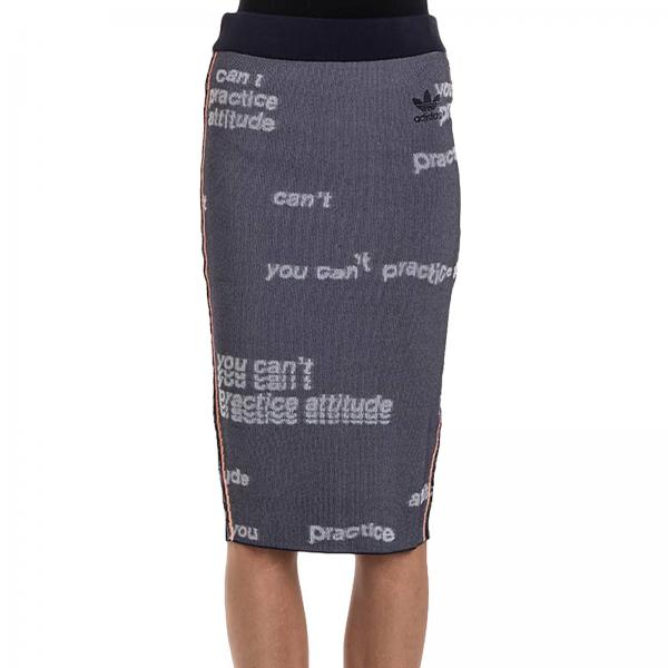 Jupe Femme Adidas Originals Gris | Jupe Femme Adidas Originals | Jupe Adidas Bq7803 - Giglio FR
