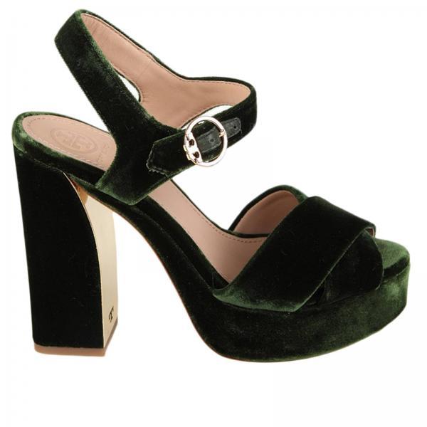00cd12847 Tory Burch Women s Green Heeled Sandals