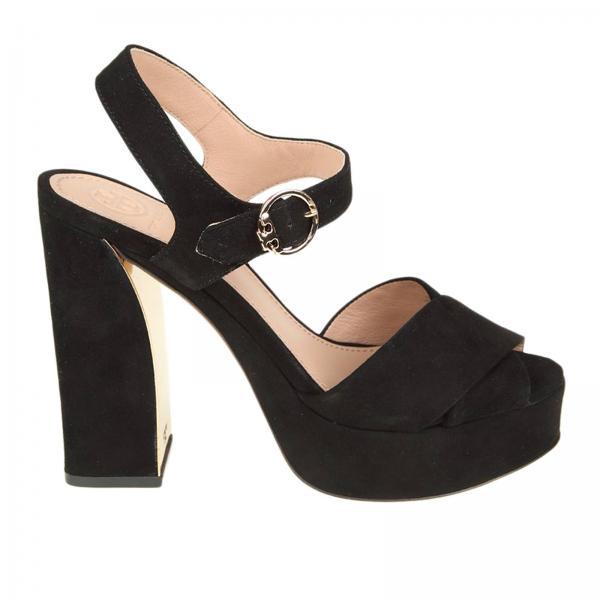 f45ffbddb Tory Burch Women s Black Heeled Sandals
