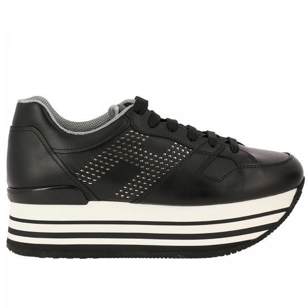 hogan 283 maxi platform sneakers