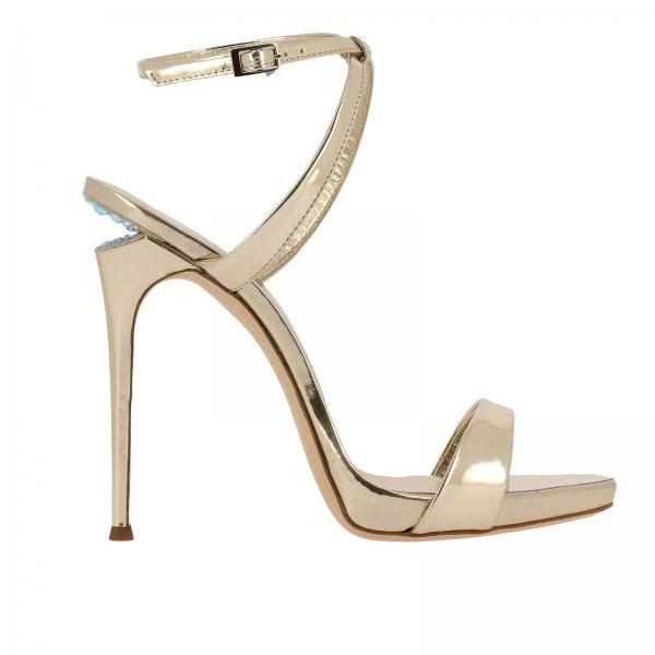 Giuseppe Zanotti Design Women s Platinum Heeled Sandals  af9ba923f5