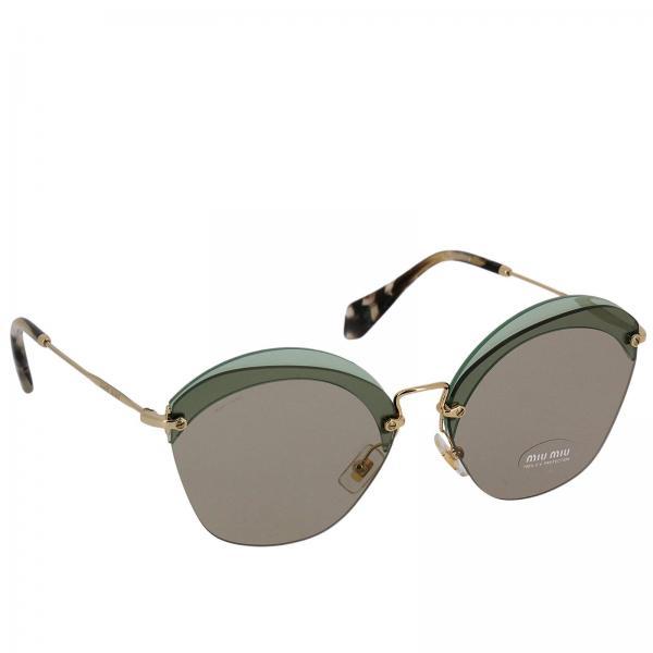 e5af161dc8 Miu Miu Women s Green Glasses