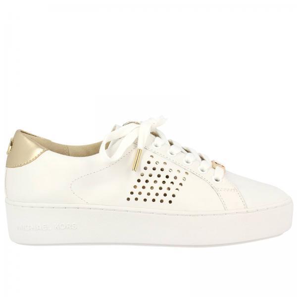 Michael Michael Kors Women's White Sneakers   Sneakers Women Michael  Michael Kors   Michael Kors Sneakers 43r7pofs3l - Giglio EN