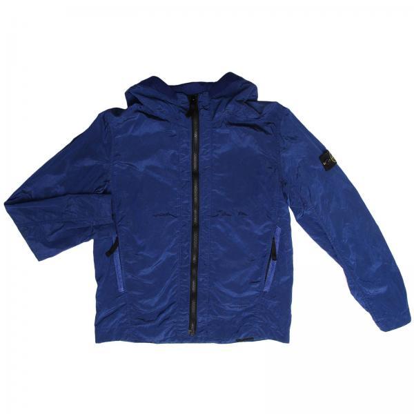 Jacket little boy Stone Island Royal Blue  500d275d7