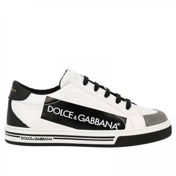 Chaussures garçon Dolce   Gabbana Bleu Royal   Chaussures Enfant ... 4d18e960b706