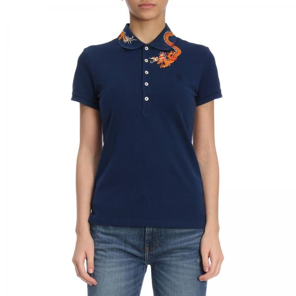 Polo Ralph Lauren Women s Blue T-shirt  80f2d04c1