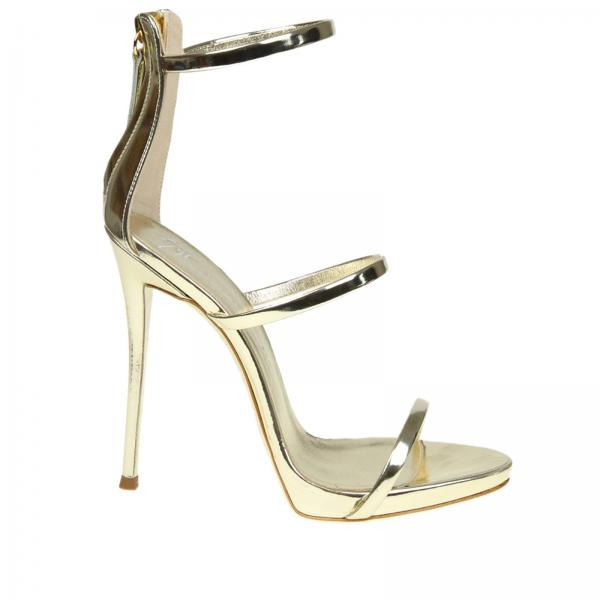 Heeled Sandals Women Giuseppe Zanotti Design Platinum f01b9b8e3