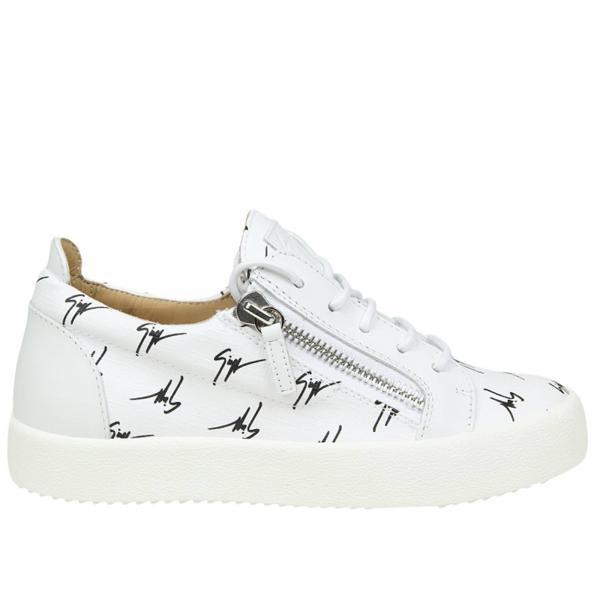 75bf2907f1aae Giuseppe Zanotti Design Women s White Sneakers
