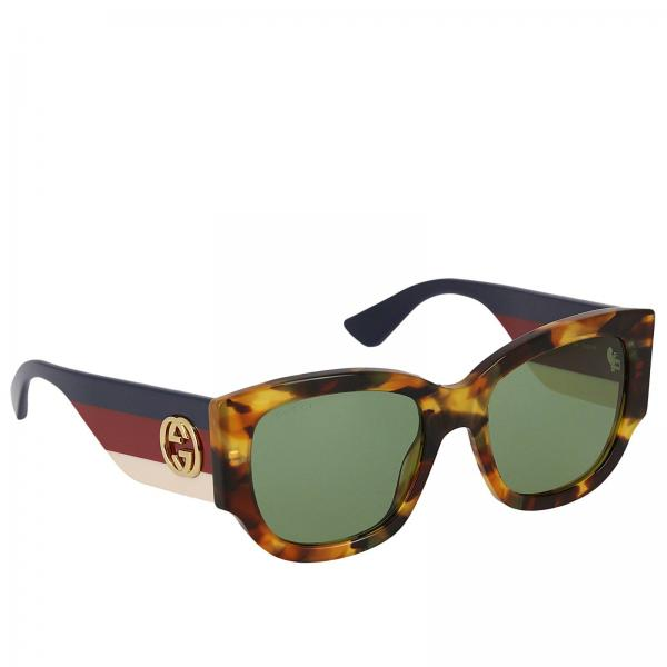 243f0f9708d892 Lunettes Femme Gucci Vert   Lunettes Femme Gucci   Lunettes Gucci Gg0276s -  Giglio FR
