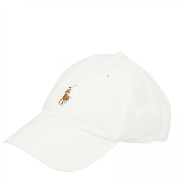194db6c54a8 Polo Ralph Lauren Men s White Hat
