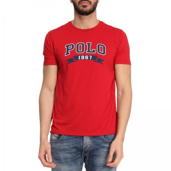 t shirt polo ralph lauren uomo rossa