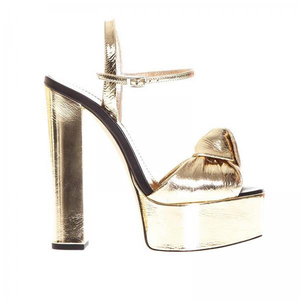 Giuseppe Zanotti Design Women s Gold Heeled Sandals  65262b163e5