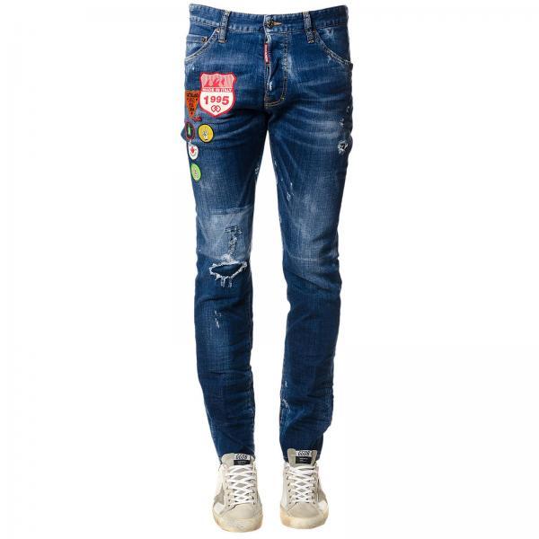 Jeans Homme Dsquared2 Bleu   Jeans Homme Dsquared2   Jeans Dsquared2  S74lb0327 S30342 - Giglio FR 36b66101f1bd