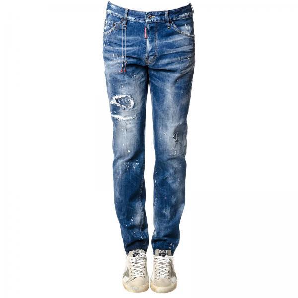 Pantalon Homme Dsquared2 Pierre   Pantalon Homme Dsquared2   Pantalon  Dsquared2 S71lb0453 S30342 - Giglio FR 3a035962e7c1