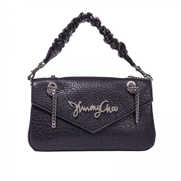 eb8247c7c4 Mini sac à main Femme Jimmy Choo Noir | Sac Porté épaule Femme Jimmy Choo |  Mini Sac à Main Jimmy Choo Molly Gnl - Giglio FR