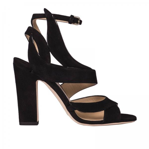 ebbdd995cbf Jimmy Choo Women s Black Heeled Sandals