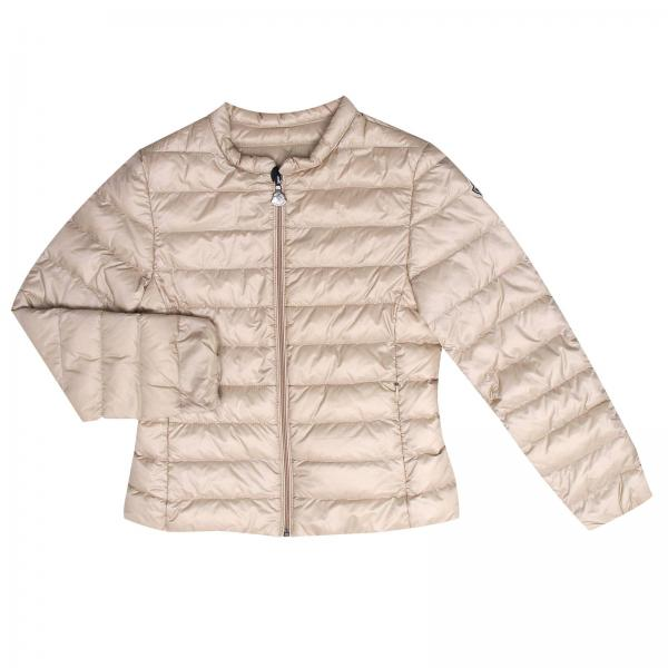 Jacket Little Girl Moncler Beige