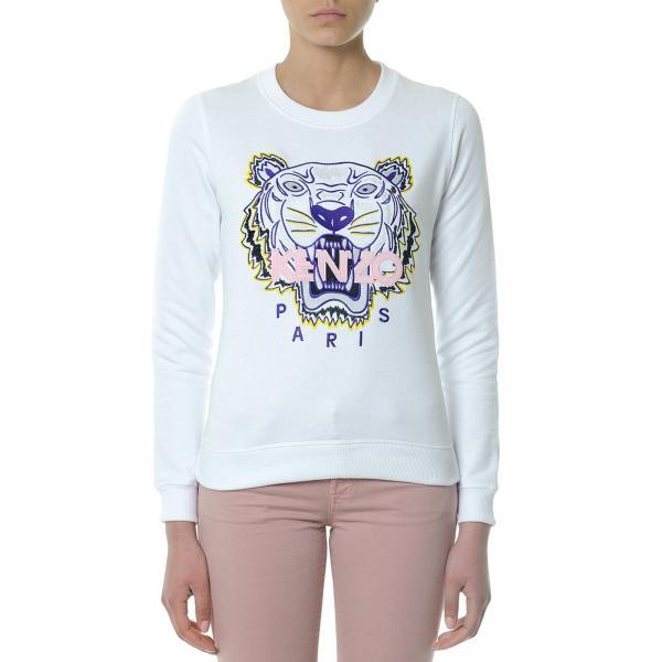 Sweatshirt Women Kenzo White 5c7e4b6386