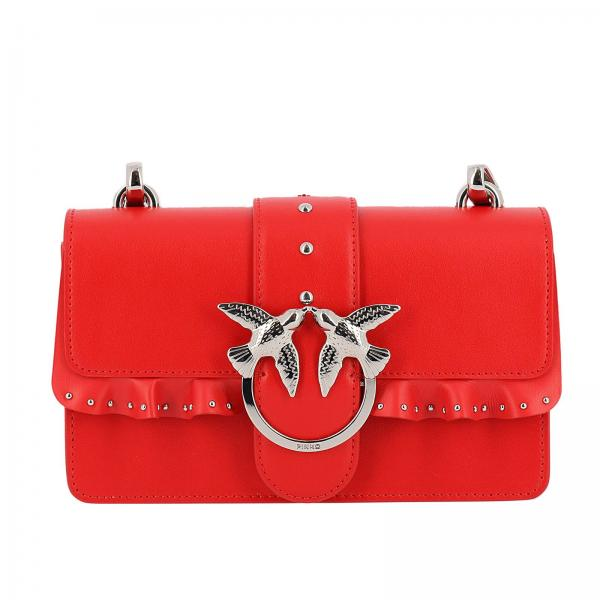 Pinko Red Mini Love Bag b61IJ