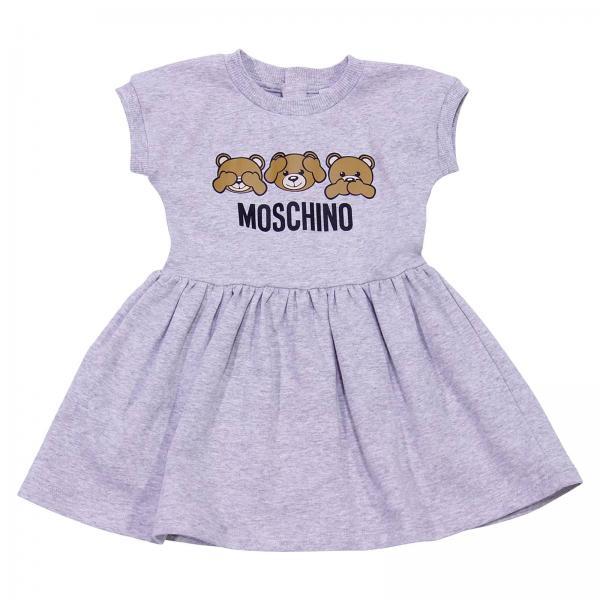 Kleid für Mädchen Moschino Baby   Kleid Moschino Mdv065 Lda00 ...
