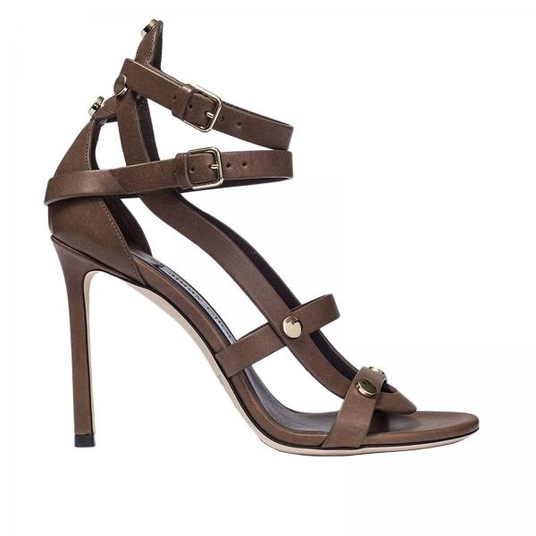 d3cabd1a64f Heeled sandals Women Jimmy Choo Brown