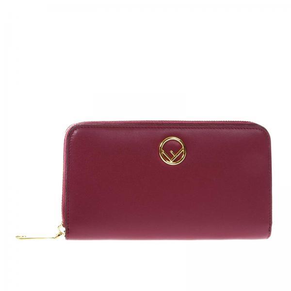 0b0fa430c873 Fendi Women s Burgundy Wallet
