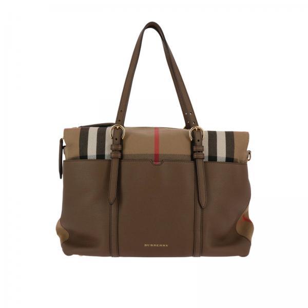 Burberry Layette Women S Beige Tote Bags Bag Kids 3957186 Giglio En