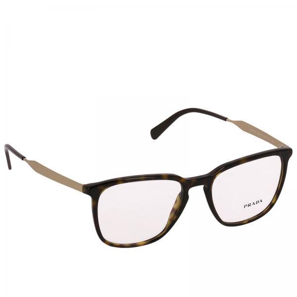 6b859f7b4b2 Prada Men s Brown Glasses