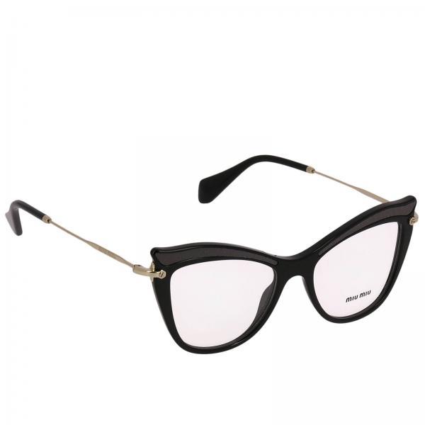 17564b685f Miu Miu Women s Black Glasses