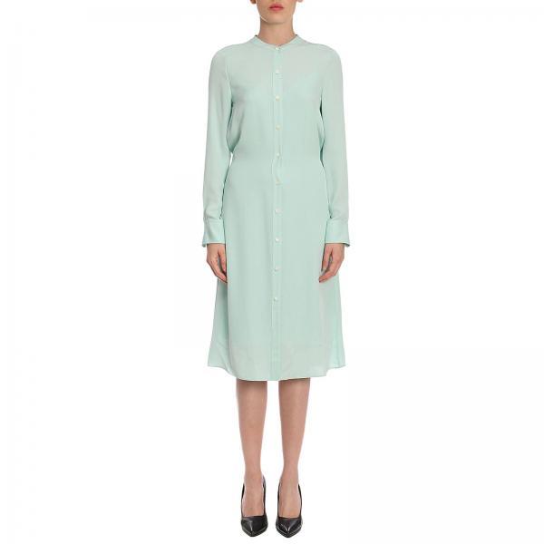 Theory Women S Green Dress Dress Women Theory Theory Dress