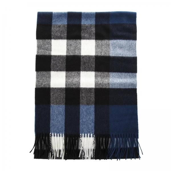 Burberry Men s Blue Scarf   Scarf Men Burberry   Burberry Scarf 4031052 -  Giglio EN 251a1db8e5f1