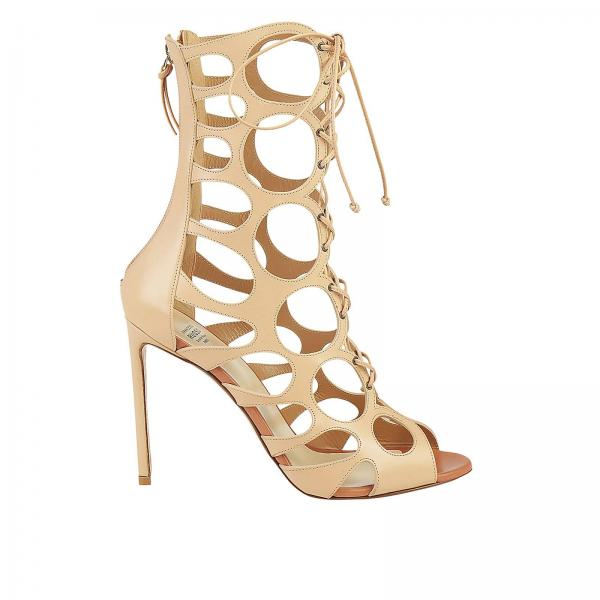Heeled sandals Francesco Russo R1B371