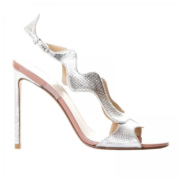 Heeled sandals Francesco Russo R1S366
