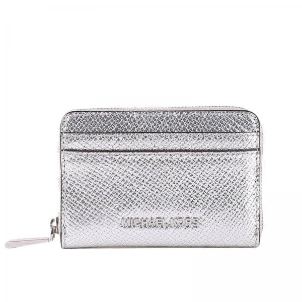 390527077f74 Michael Michael Kors Women s Silver Wallet