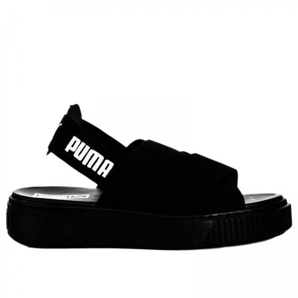 puma nere scarpe donna
