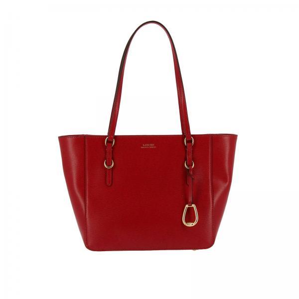 Handbag Women Lauren Ralph Lauren Red c9f8ba2f45