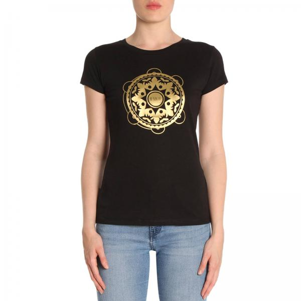 T-shirt in puro cotone a maniche corte con stampa Tammurì