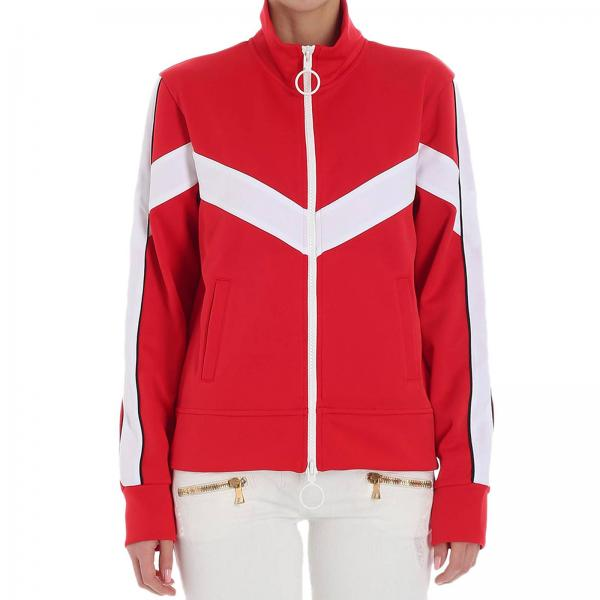 Jacket Women Off White Red  52ab64777