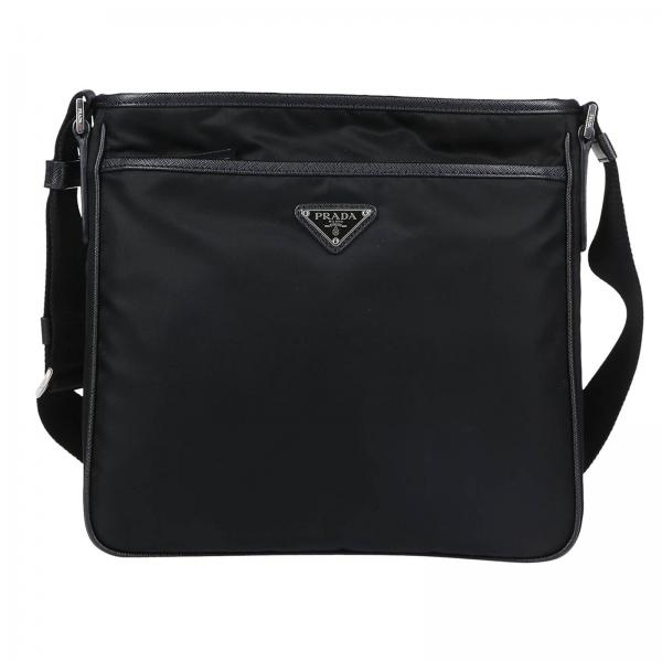 Prada Men s Black Shoulder Bag  ac6207718de64