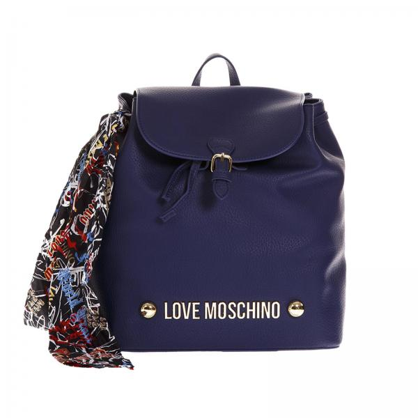 4fa968946dd8 Backpack Women Moschino Love