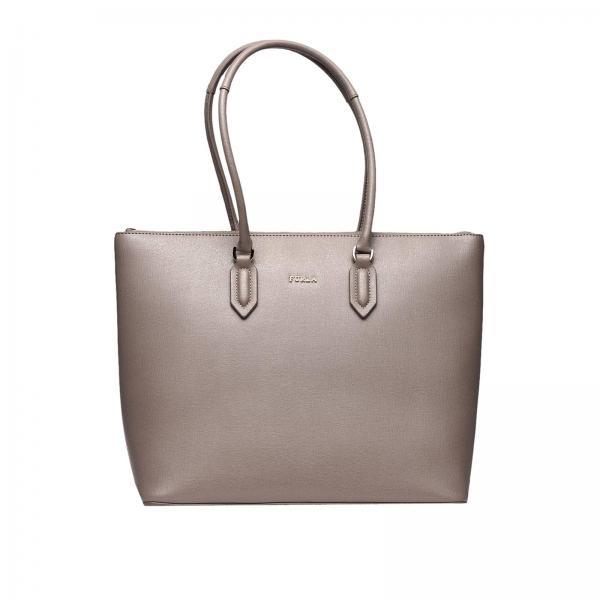 Furla Women S Grey Tote Bags 942285 Giglio En