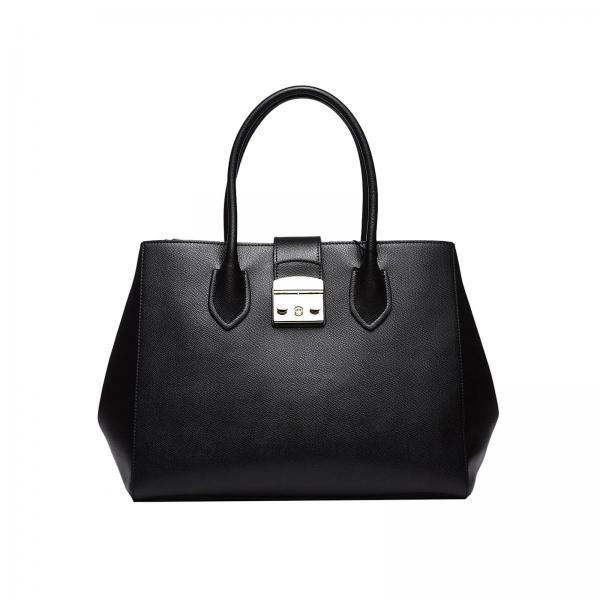 Furla Women S Black Tote Bags 921237 Giglio En