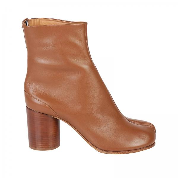 6fc99256f6f Maison Margiela Women s Beige Boots