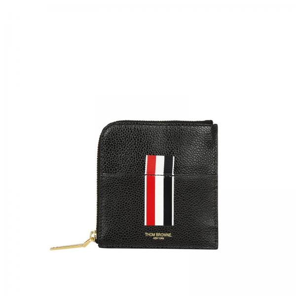 34436a14b1ee Thom Browne Men s Black Wallet