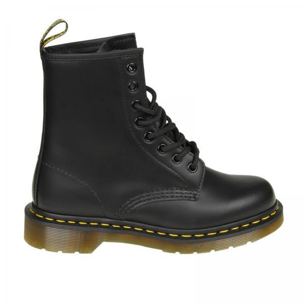 f02176b46d52 Dr. Martens Women s Black Flat Booties