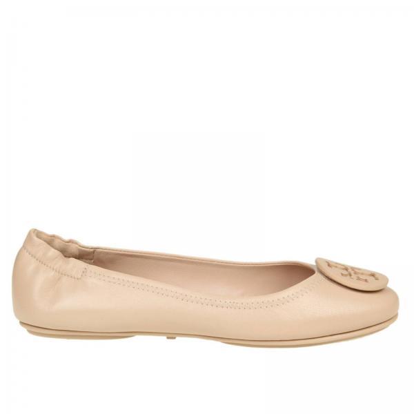 4dfdffff965 Ballet Flats Women Tory Burch White