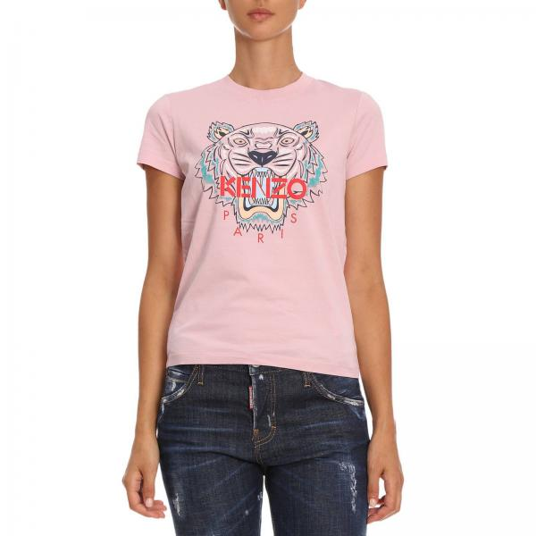 T-shirt Women Kenzo Pink 5dbd00e86d