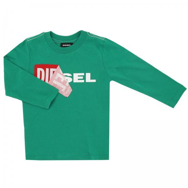 Camiseta Niño Diesel Verde bab351fdcb30d
