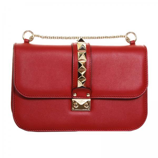Mujer Valentino Bolso Mano De Garavani Rojo qfw4Exw
